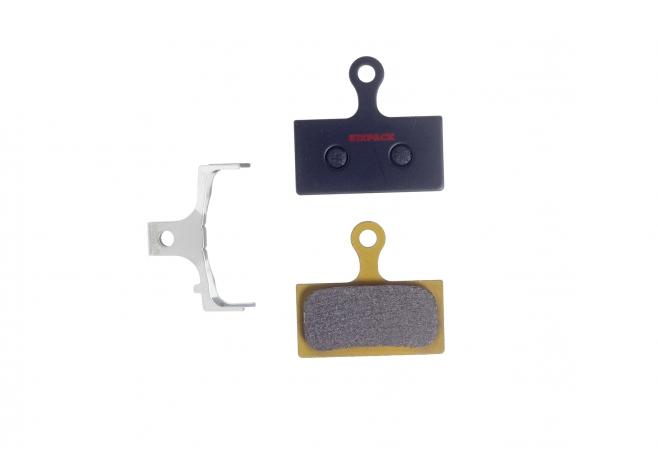 Plaquettes (métal fritté) Shimano XTR/XT/SLX 2011