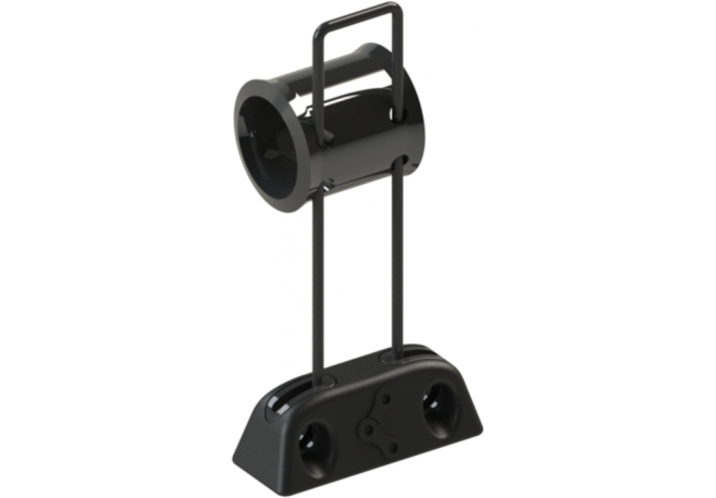 Guide-Chaîne VTT HXR COMPONENTS by Chaintamer Noir 90 mm - HXR Components