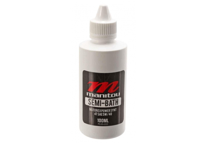 Huile MOTOREX pour MANITOU Semi-bath (100 ml) - Manitou